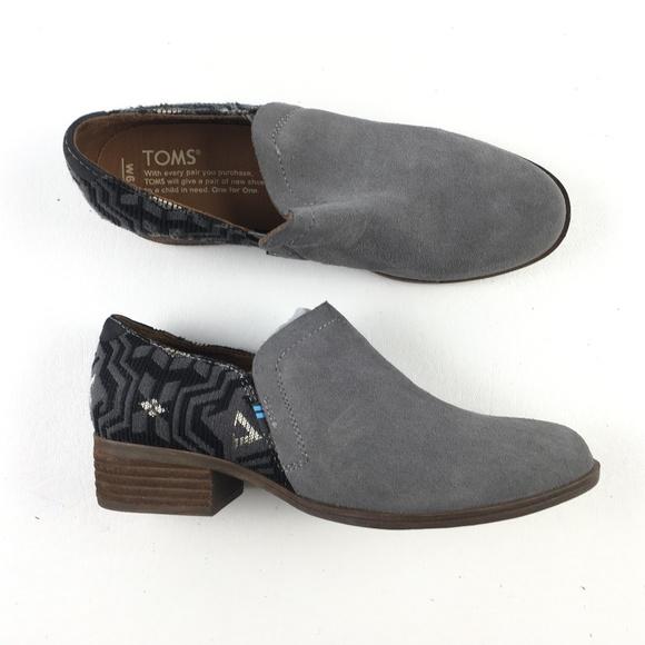 10acd3f139e Toms Gray Shoes H8315021